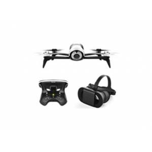 Parrot BeBop 2 PF726203V2 Drone With FPV Bundle - White Drone - Black Headset