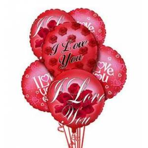FTD I Love You Balloon Bouquet
