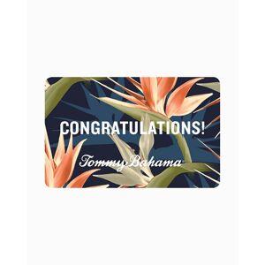 Tommy Bahama Congrats Virtual Gift Card