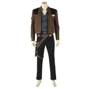milanoo.com Milanoo Solo A Star Wars Story Han Solo Halloween Cosplay Costume  - Coffee Brown - Size: Small