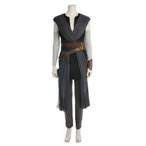 milanoo.com Milanoo Star Wars The Last Jedi Rey Halloween Cosplay Costume  - Black - Size: Medium