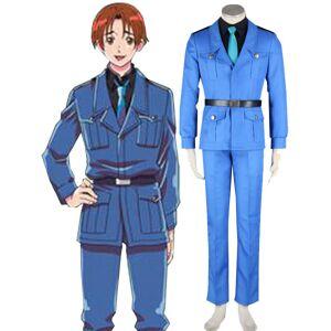 milanoo.com Milanoo Axis Powers Hetalia Italy Cosplay Costume Halloween  - Blue - Size: Extra Large