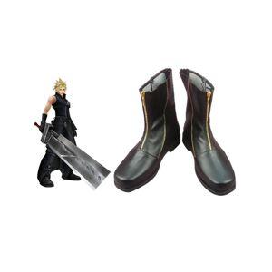milanoo.com Milanoo Special Final Fantasy VII Cloud Strife Cosplay Boots Halloween  - Black - Size: Male US 7