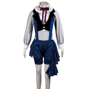 milanoo.com Milanoo Black Butler Kuroshitsuji Ciel Phantomhive Halloween Cosplay Costume Halloween  - Royal Blue - Size: Medium