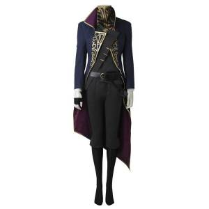 milanoo.com Milanoo Dishonored 2 Emily Kaldwin Cosplay Costume Halloween  - Royal Blue - Size: 2X-Small