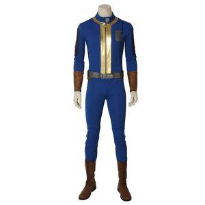milanoo.com Milanoo Fallout 76 Video Game Halloween Cosplay Costume  - Blue - Size: 2X-Large