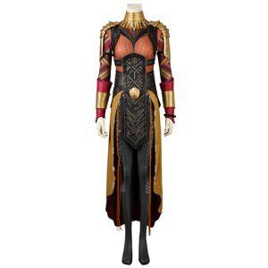 milanoo.com Black Panther Okoye Halloween Cosplay Costume  - Orange - Size: Small
