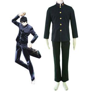 milanoo.com Sakamoto desu ga Sakamoto Cosplay Costume Sakamoto School Uniform Halloween