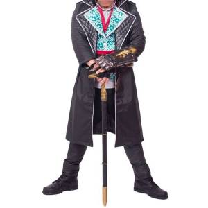 milanoo.com Milanoo Inspired By Assassin's Creed Syndicate Halloween Jacob Frye Cosplay Costume  - Black - Size: Male M