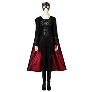 milanoo.com Milanoo Supergirl Reign Halloween Cosplay Costume  - Black - Size: Extra Small