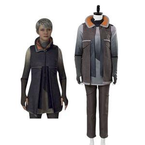 milanoo.com Milanoo Detroit Become Human Kara Halloween Cosplay Costume  - Tan - Size: Extra Small