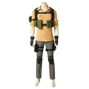milanoo.com Milanoo Tom Clancy\'s The Division Aaron Keener Carnival Cosplay Costume  - Yellow - Size: 2X-Large