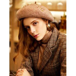 milanoo.com Wool Hats Fashion Women\'s Caps Beret