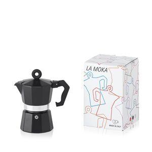 illy caffe illy La Moka Black 3 Cup Moka Pot