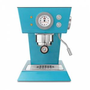 illy caffe illy Refurbished X5 Espresso and E.S.E. Pod Machine - Turquoise