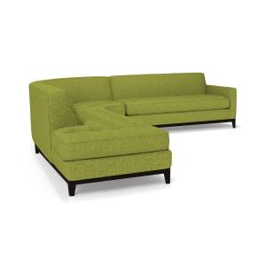 Apt2B Monroe Drive 3pc Sleeper Sectional -  -  Pull Out Couch Bed Made in the USA - Sold by Apt2B