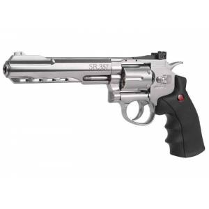 Crosman SR.357 CO2 Revolver, Silver 0.177