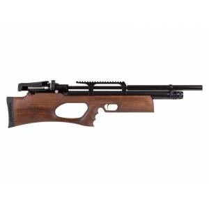Kral Arms Puncher Breaker Silent Walnut Sidelever PCP Air Rifle 0.22