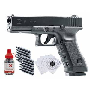 Glock Umarex Glock 17 Gen3 CO2 Blow Back .177 BB Gun Kit 0.177