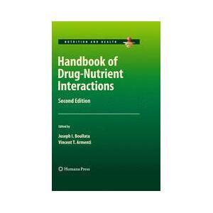 Springer Shop Handbook of Drug-Nutrient Interactions
