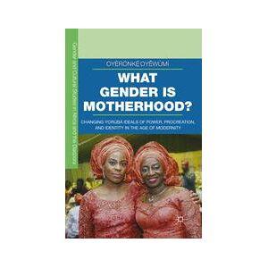Springer Shop What Gender is Motherhood?