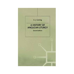 Springer Shop A History of Anglican Liturgy