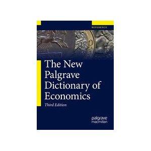 Springer Shop The New Palgrave Dictionary of Economics