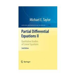 Springer Shop Partial Differential Equations II