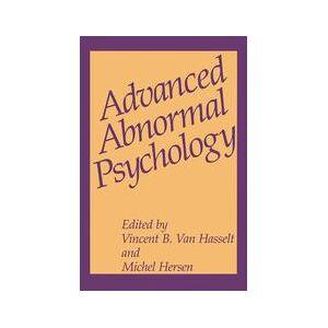 Springer Shop Advanced Abnormal Psychology