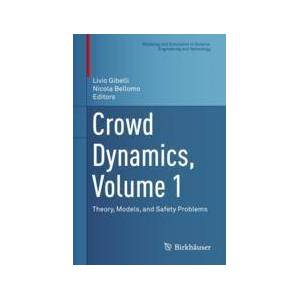 Springer Shop Crowd Dynamics, Volume 1