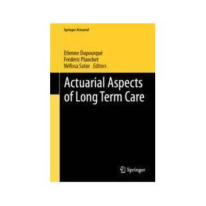 Springer Shop Actuarial Aspects of Long Term Care