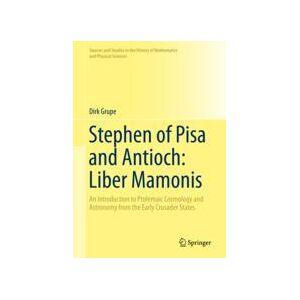 Springer Shop Stephen of Pisa and Antioch: Liber Mamonis