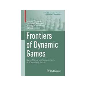 Springer Shop Frontiers of Dynamic Games