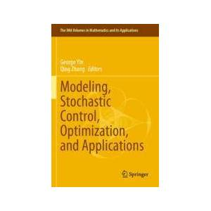 Springer Shop Modeling, Stochastic Control, Optimization, and Applications