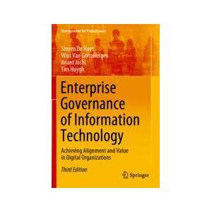 Springer Shop Enterprise Governance of Information Technology