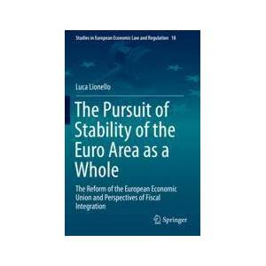 Springer Shop The Pursuit of Stability of the Euro Area as a Whole