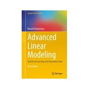 Springer Shop Advanced Linear Modeling