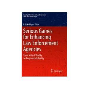 Springer Shop Serious Games for Enhancing Law Enforcement Agencies