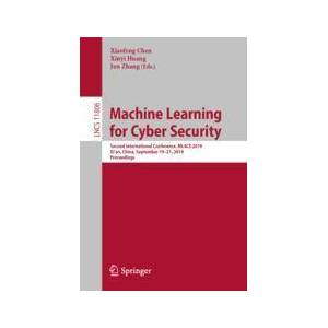 Springer Shop Machine Learning for Cyber Security