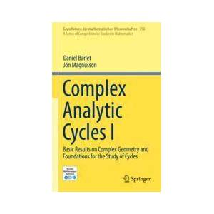 Springer Shop Complex Analytic Cycles I