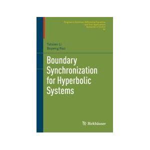 Springer Shop Boundary Synchronization for Hyperbolic Systems