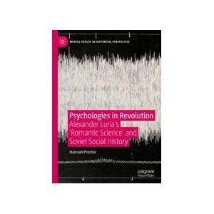 Springer Shop Psychologies in Revolution