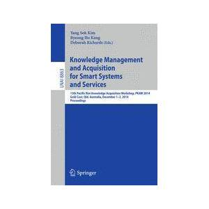 Springer Shop Knowledge Management and Acquisition for Smart Systems and Services