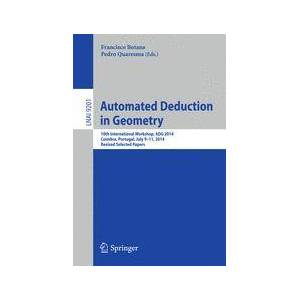 Springer Shop Automated Deduction in Geometry