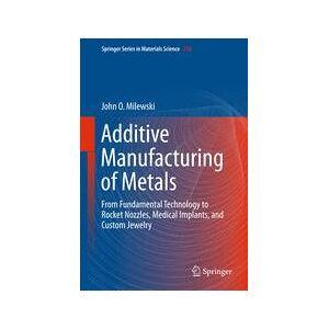 Springer Shop Additive Manufacturing of Metals