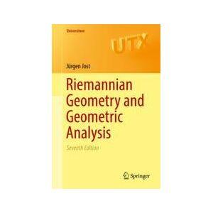 Springer Shop Riemannian Geometry and Geometric Analysis