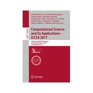 Springer Shop Computational Science and Its Applications – ICCSA 2017
