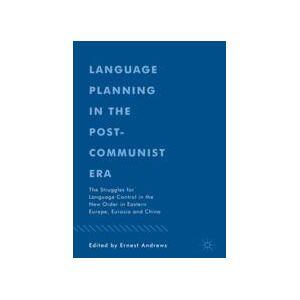 Springer Shop Language Planning in the Post-Communist Era