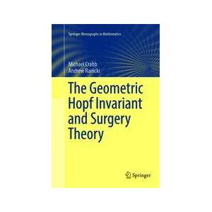 Springer Shop The Geometric Hopf Invariant and Surgery Theory