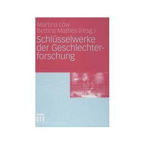 Springer Shop Schlüsselwerke der Geschlechterforschung